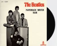 THE BEATLES Paperback Writer Vinyl Record 7 Inch Odeon 2019